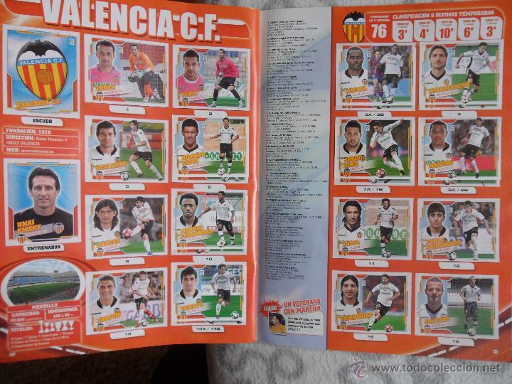 Álbum de fútbol completo: LIGA 2010 2011. COLECCION OFICIAL DE CROMOS. LIGA BBVA. CAMPEONATO NACIONAL DE LIGA 2010/2011. FUTBO - Foto 2 - 237437280