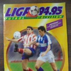Álbum de fútbol completo: ALBUM LIGA 94-95. FÚTBOL 1ª DIVISIÓN. EDICIONES ESTE. COMPLETO. Lote 50180430