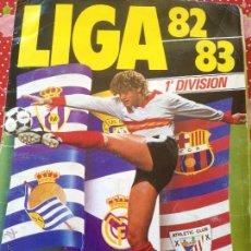 Álbum de fútbol completo: ALBUM COMPLETO FUTBOL CAMPEONATO LIGA 82-83 ESTE CON TODOS LOS FICHAJES IMPORTANTES BUEN ESTADO. Lote 50254414