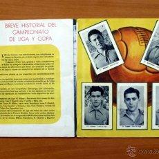 Álbum de fútbol completo: CELTA DE VIGO - EDITORIAL RUIZ ROMERO 1952-1953, 52-53 - CON 25 CROMOS. Lote 50393530