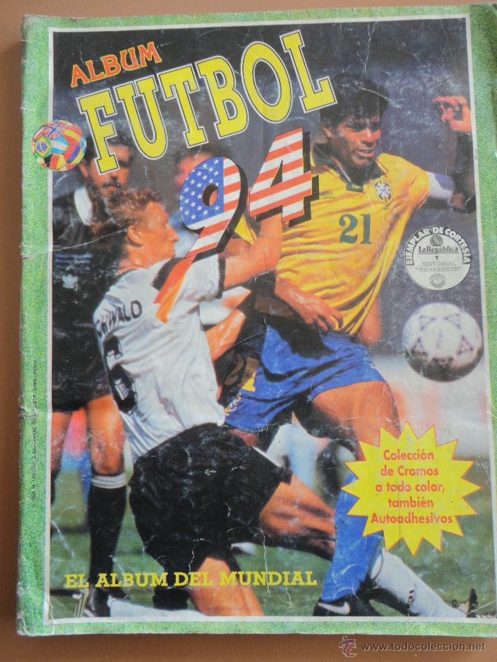 FUTBOL 94 NAVARRETE COMPLETO (Coleccionismo Deportivo - Álbumes y Cromos de Deportes - Álbumes de Fútbol Completos)
