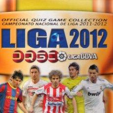 Album de football complet: ÁLBUM COLECCIÓN COMPLETA PLATINUM MUNDICROMO - QUIZ GAME 2011 2012. Lote 50542490