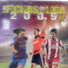 Álbum de fútbol completo: COLECCIÓN PLATINUM COMPLETA MUNDICROMO 2008 2009. Lote 50542674