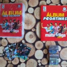 Álbum de fútbol completo: COLECCION COMPLETA MATU LIGA 2012 2013 MATUTANO (TAZOS + PEGATINAS + AQUARADE...) LEER DESCRIPCION. Lote 50663662