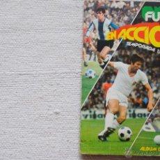 Álbum de fútbol completo: ALBUM FUTBOL EN ACCION 1977-78 PACOSA 2 CON 31 COLOCAS . Lote 50751204