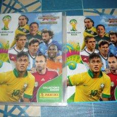 Álbum de fútbol completo: ADRENALYN BRASIL 2014 ARCHIVADOR COMPLETO. Lote 50821242