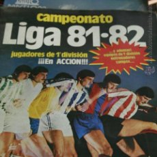 Álbum de fútbol completo: CAMPEONATO LIGA 81-82 EDICIONES ESTE , ORIGINAL , COMPLETO, CASI COMO NUEVO. Lote 50823707