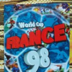 Álbum de fútbol completo: ALBUM COMPLETO MUNDIAL FRANCIA 1998 EDITORIAL DS. Lote 50882526