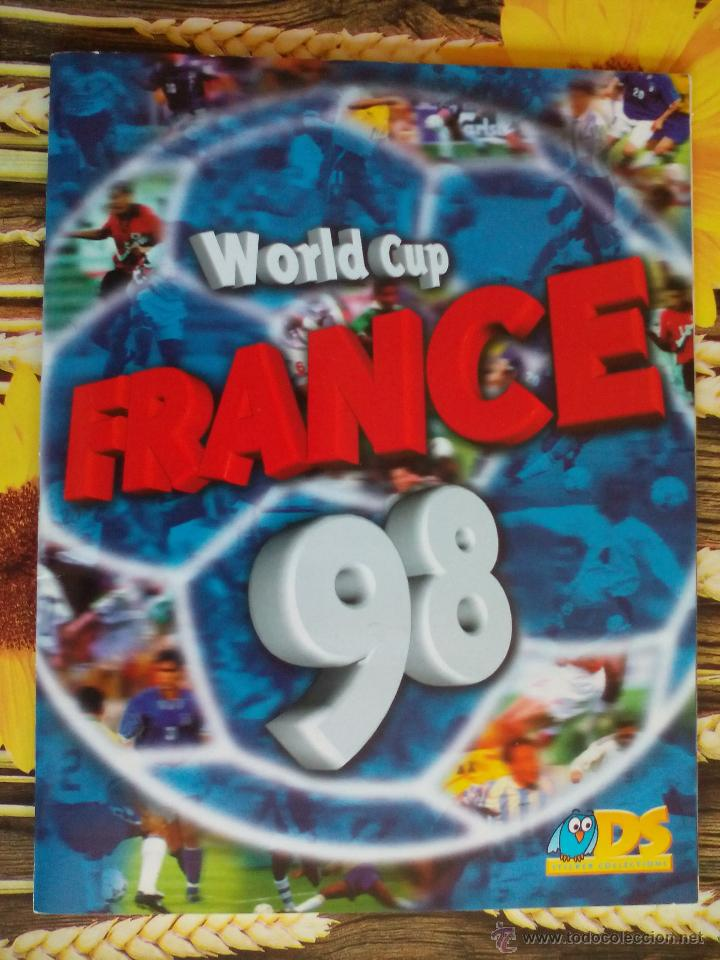 ALBUM COMPLETO WORLD CUP FRANCE 98 MUNDIAL FRANCIA 1998 EDITORIAL DS (Coleccionismo Deportivo - Álbumes y Cromos de Deportes - Álbumes de Fútbol Completos)