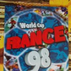 Álbum de fútbol completo: ALBUM COMPLETO WORLD CUP FRANCE 98 MUNDIAL FRANCIA 1998 EDITORIAL DS. Lote 50886642