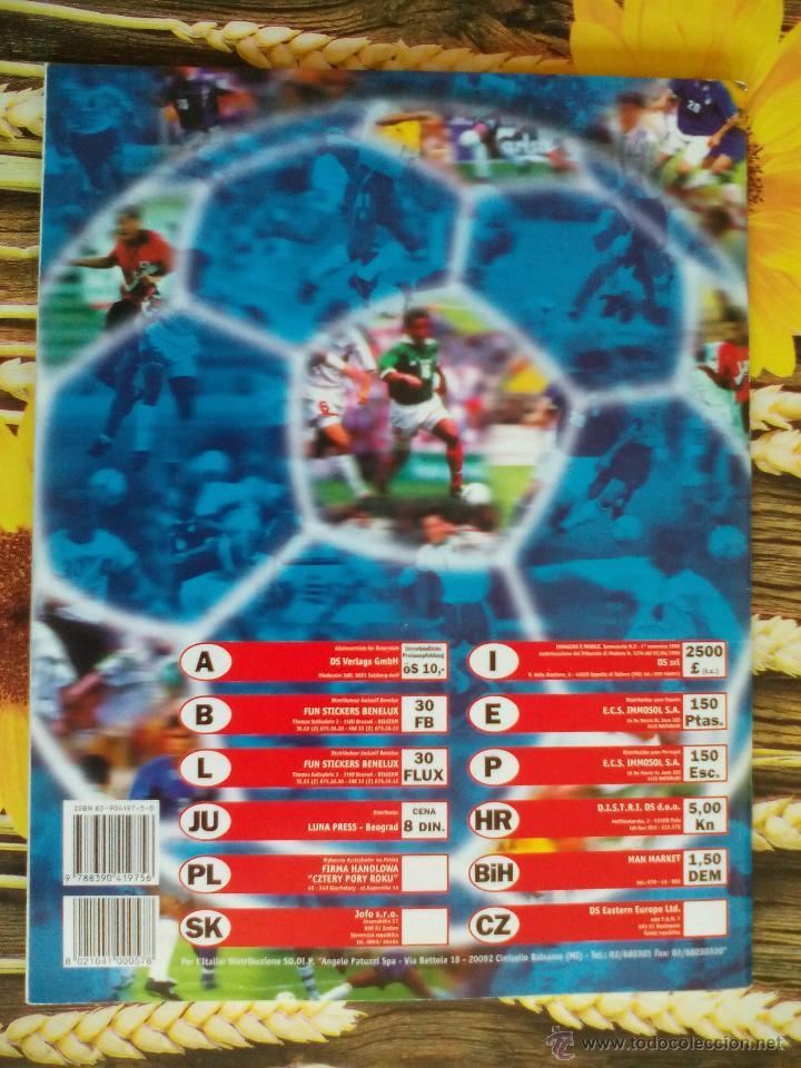 Álbum de fútbol completo: ALBUM COMPLETO WORLD CUP FRANCE 98 MUNDIAL FRANCIA 1998 EDITORIAL DS - Foto 2 - 50886642