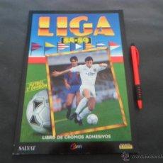 Álbum de fútbol completo: ÁLBUM DE CROMOS DE FÚTBOL COMPLETO ~ LIGA 1988/89 SALVAT ~ PANINI ~ EDICIONES ESTE ~EDICION FACSIMIL. Lote 100114558