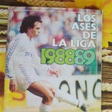 Álbum de fútbol completo: ALBUM COMPLETO LOS ASES DE LA LIGA 88 89 1988 1989 PERIODICO AS. Lote 50934227
