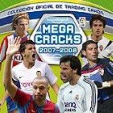 Álbum de fútbol completo: ALBUM DE CROMOS CARDS MEGACRACKS 2007- 2008 07 - 08 COMPLETO. Lote 215685963
