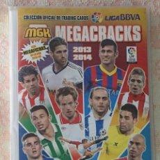 Álbum de fútbol completo: ALBUM DE CROMOS CARDS COMPLETO MEGACRACKS 2013 - 2014 13 - 14. Lote 51143577