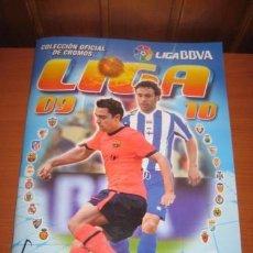 Álbum de fútbol completo: ALBUM DE CROMOS COMPLETO PEGADO ESTE 2009 2010 09-10. Lote 51143759