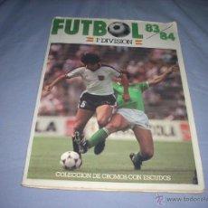 Álbum de fútbol completo: INCREIBLE ALBUM DE LA LIGA 1983-84 DE CROMOS CANO. Lote 51240112