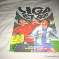 Álbum de fútbol completo: ALBUM DE LA LIGA 1987-88 DE ESTE COMPLETO Y CON ADISON, ETC. Lote 51471371
