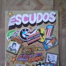 Caderneta de futebol completa: ESCUDOS ESCUDERIAS MOTOS COCHES FUTBOL ZODIACO STARS - ALBUM COMPLETO 1981. Lote 51522105
