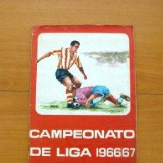 Álbum de fútbol completo: CAMPEONATO DE LIGA 1966-1967, 66-67 - EDITORIAL FHER - COMPLETO. Lote 51560733