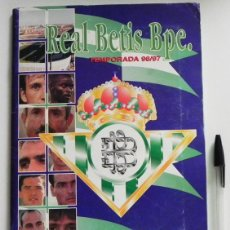 Álbum de fútbol completo: REAL BETIS BALOMPIÉ TEMPORADA 96 97 ÁLBUM D CROMOS LÁMINAS COMPLETO FÚTBOL DEPORTE ESTADIO DEPORTIVO. Lote 51661474