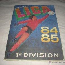 Álbum de fútbol completo: ALBUM DE LA LIGA 1984-85 DE CROMOS CANO COMPLETO. Lote 51763614