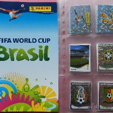 Álbum de fútbol completo: COLECCION COMPLETA MUNDIAL BRASIL 2014 - PANINI ALBUM VACIO + 640 CROMOS SIN PEGAR COPA DEL MUNDO 14. Lote 275731938
