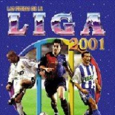 Álbum de fútbol completo: MUNDICROMO LAS FICHAS DE LA LIGA 2001 COMPLETO 635 FICHAS INCLUIDO NISHIZAWA Y LOS SEIS ERRORES. Lote 51894531