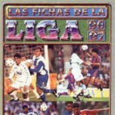 Álbum de fútbol completo: MUNDICROMO LAS FICHAS DE LA LIGA 96-97 COMPLETO 857 CROMOS MAS 5 ERRORES. Lote 51896178