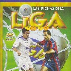 Álbum de fútbol completo: MUNDICROMO LAS FICHAS DE LA LIGA 96-97 COMPLETO 642 CROMOS MAS 29 ERRORES. Lote 51896716