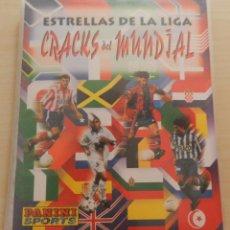Álbum de fútbol completo: COLECCION COMPLETA ESTRELLAS DE LA LIGA CRACKS DEL MUNDIAL FRANCIA 98 PANINI PHOTOCARDS FRANCE 1998. Lote 51996532