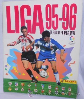 ÁLBUM LIGA 95-96, DE PANINI, COMPLETO (Coleccionismo Deportivo - Álbumes y Cromos de Deportes - Álbumes de Fútbol Completos)