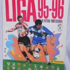 Álbum de fútbol completo: ÁLBUM LIGA 95-96, DE PANINI, COMPLETO. Lote 52010200