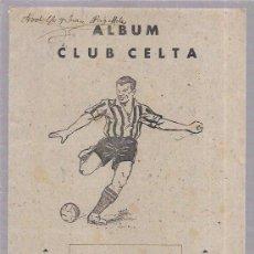 Álbum de fútbol completo: ALBUM CLUB CELTA. COMPLETO. EDITORIAL VALENCIANA. VALENCIA. Lote 52406655