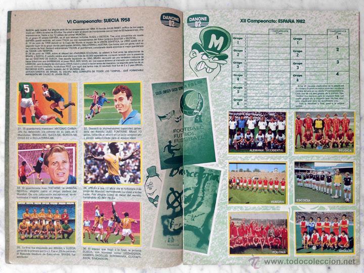 Álbum de fútbol completo: ALBUM DE CROMOS - FÚTBOL EN ACCIÓN - DANONE - 1981 (COMPLETO - 96 CROMOS) - Foto 3 - 52407646