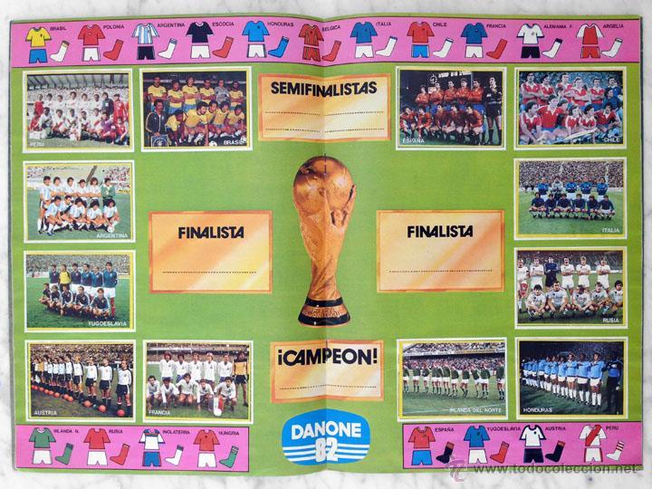 Álbum de fútbol completo: ALBUM DE CROMOS - FÚTBOL EN ACCIÓN - DANONE - 1981 (COMPLETO - 96 CROMOS) - Foto 4 - 52407646