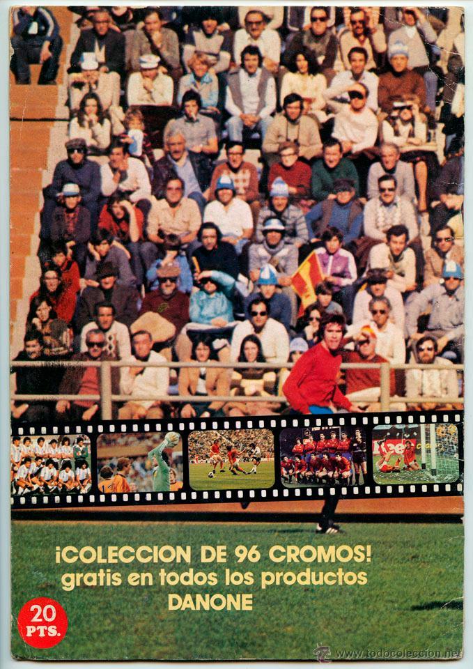 Álbum de fútbol completo: ALBUM DE CROMOS - FÚTBOL EN ACCIÓN - DANONE - 1981 (COMPLETO - 96 CROMOS) - Foto 6 - 52407646