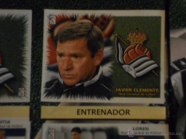ESTE LIGA 1999 2000 99 00 COMPLETO. CON CLEMENTE, MUCHOS CROMOS DOBLES Y FICHAJES DOBLES. (Coleccionismo Deportivo - Álbumes y Cromos de Deportes - Álbumes de Fútbol Completos)
