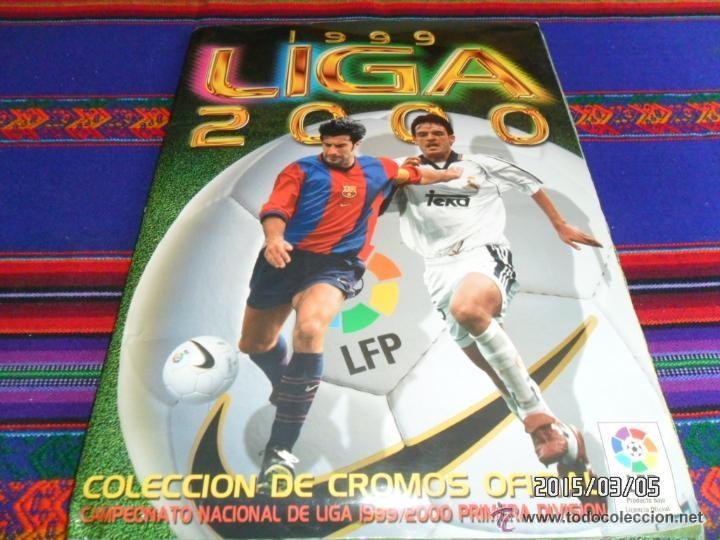 Álbum de fútbol completo: ESTE LIGA 1999 2000 99 00 COMPLETO. CON CLEMENTE, MUCHOS CROMOS DOBLES Y FICHAJES DOBLES. - Foto 5 - 48154733