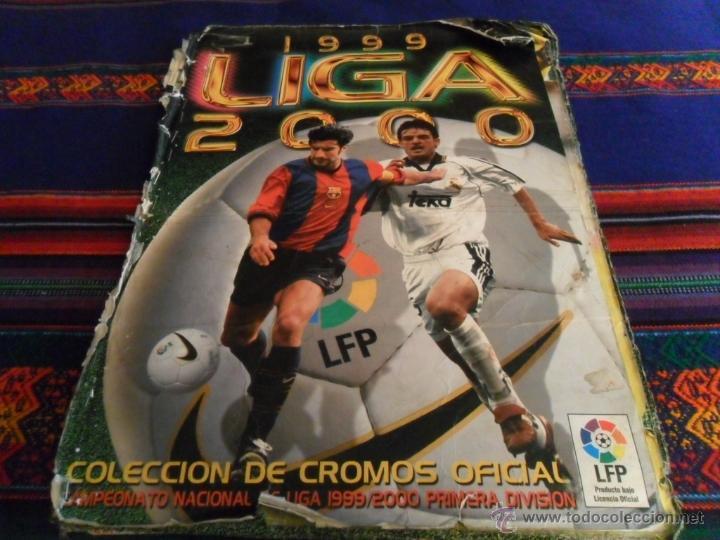 Álbum de fútbol completo: ESTE LIGA 1999 2000 99 00 COMPLETO. CON CLEMENTE, MUCHOS CROMOS DOBLES Y FICHAJES DOBLES. - Foto 6 - 48154733