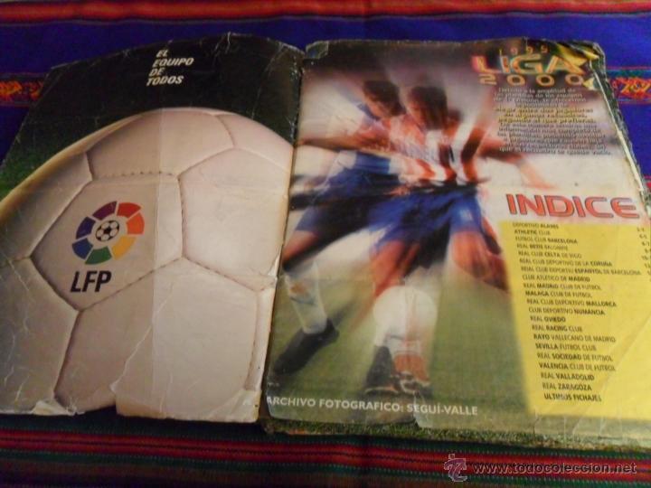 Álbum de fútbol completo: ESTE LIGA 1999 2000 99 00 COMPLETO. CON CLEMENTE, MUCHOS CROMOS DOBLES Y FICHAJES DOBLES. - Foto 7 - 48154733