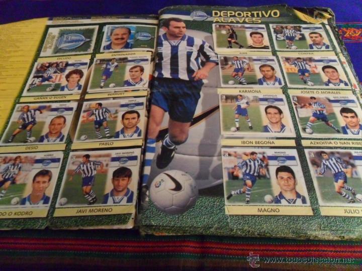 Álbum de fútbol completo: ESTE LIGA 1999 2000 99 00 COMPLETO. CON CLEMENTE, MUCHOS CROMOS DOBLES Y FICHAJES DOBLES. - Foto 8 - 48154733