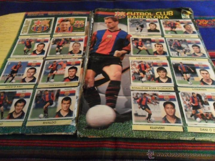 Álbum de fútbol completo: ESTE LIGA 1999 2000 99 00 COMPLETO. CON CLEMENTE, MUCHOS CROMOS DOBLES Y FICHAJES DOBLES. - Foto 10 - 48154733