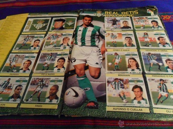 Álbum de fútbol completo: ESTE LIGA 1999 2000 99 00 COMPLETO. CON CLEMENTE, MUCHOS CROMOS DOBLES Y FICHAJES DOBLES. - Foto 11 - 48154733