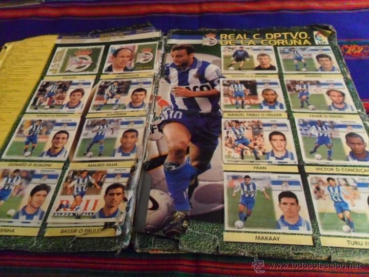 Álbum de fútbol completo: ESTE LIGA 1999 2000 99 00 COMPLETO. CON CLEMENTE, MUCHOS CROMOS DOBLES Y FICHAJES DOBLES. - Foto 13 - 48154733