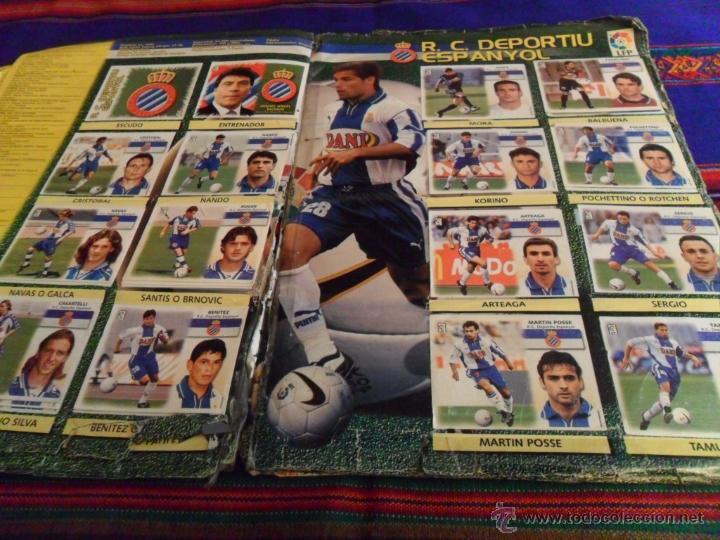 Álbum de fútbol completo: ESTE LIGA 1999 2000 99 00 COMPLETO. CON CLEMENTE, MUCHOS CROMOS DOBLES Y FICHAJES DOBLES. - Foto 14 - 48154733