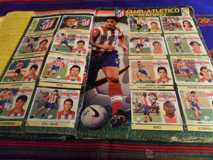 Álbum de fútbol completo: ESTE LIGA 1999 2000 99 00 COMPLETO. CON CLEMENTE, MUCHOS CROMOS DOBLES Y FICHAJES DOBLES. - Foto 15 - 48154733