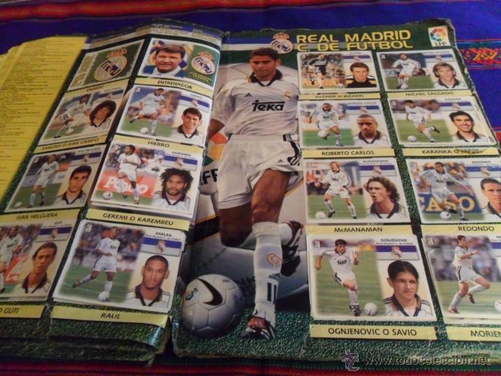 Álbum de fútbol completo: ESTE LIGA 1999 2000 99 00 COMPLETO. CON CLEMENTE, MUCHOS CROMOS DOBLES Y FICHAJES DOBLES. - Foto 16 - 48154733