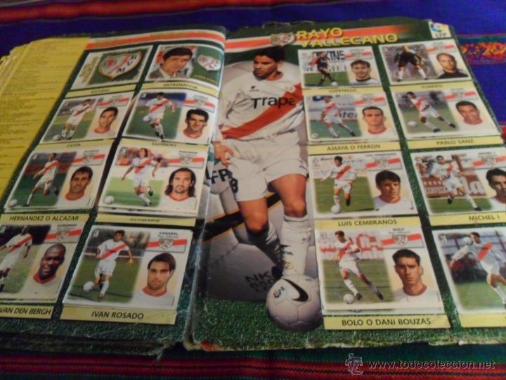 Álbum de fútbol completo: ESTE LIGA 1999 2000 99 00 COMPLETO. CON CLEMENTE, MUCHOS CROMOS DOBLES Y FICHAJES DOBLES. - Foto 22 - 48154733