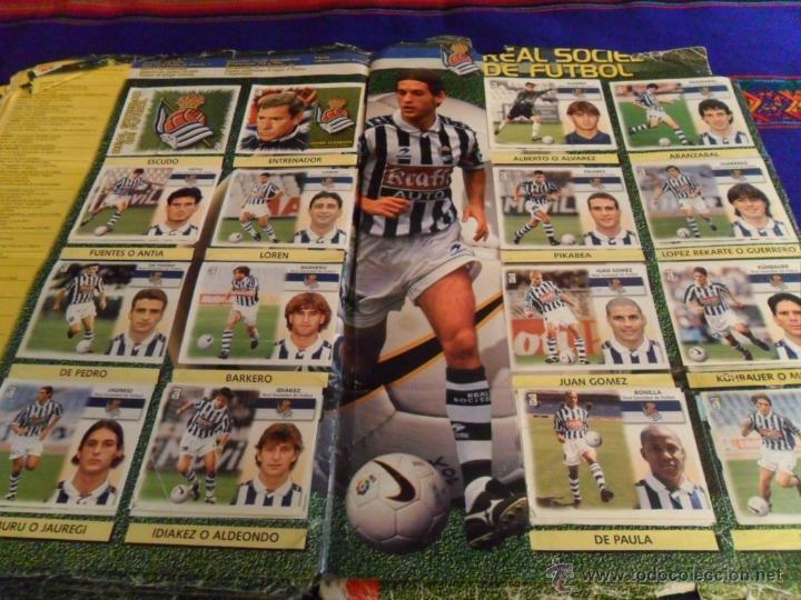 Álbum de fútbol completo: ESTE LIGA 1999 2000 99 00 COMPLETO. CON CLEMENTE, MUCHOS CROMOS DOBLES Y FICHAJES DOBLES. - Foto 23 - 48154733